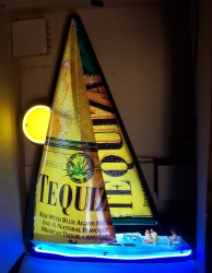 Tequiza Malt Sailboat Neon Sign beer sign collection My Beer Sign Collection 2 – Not for sale but can be bought… tequizasailboat