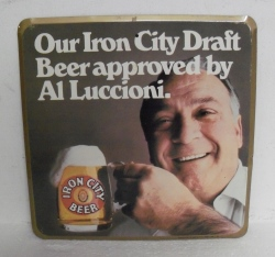 Iron City Beer Tin Sign