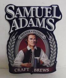 Samuel Adams Craft Brews Tin Sign