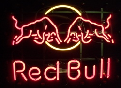 Red Bull Energy Drink Neon Sign