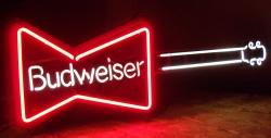 Vintage Beer Signs #1: budweiserguitar1989