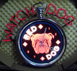 Red Dog Beer Watch Neon Sign beer sign collection My Beer Sign Collection 2 – Not for sale but can be bought… reddogwatchdog