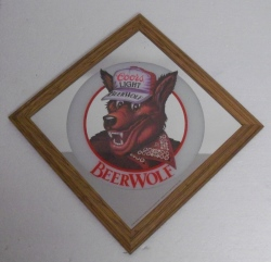 Coors Light Beer Wolf Mirror