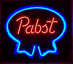 pabst neon sign Pabst Neon Sign pabstblueribbon2015