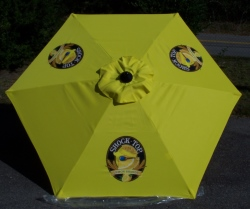 Shock Top Beer Patio Umbrella