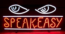 Speakeasy Beer Neon Sign beer sign collection My Beer Sign Collection 2 – Not for sale but can be bought… speakeasy