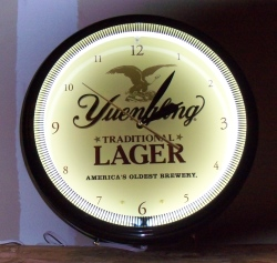 Yuengling Traditional Lager Neon Clock