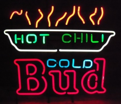 budweiser chili neon sign Budweiser Chili Neon Sign budweiserhotchilicoldbud