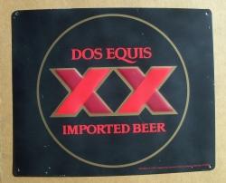 Dos Equis Tin Sign