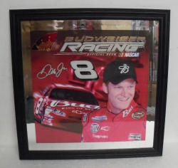 Budweiser Beer Earnhardt Mirror