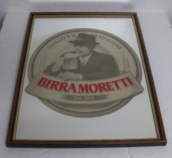 Moretti Beer Mirror