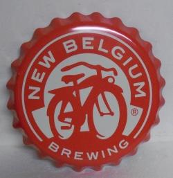 New Belgium Tin Sign