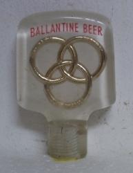 ballantine beer tap handle Ballantine Beer Tap Handle ballantinebeerlucitetapcrack