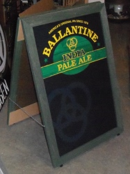 Ballantine IPA Sidewalk Chalkboard