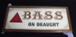 Bass Ale On Draught Mirror