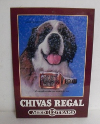 chivas regal scotch sign
