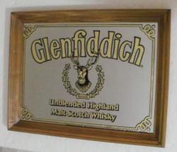 Glenfiddich Scotch Mirror