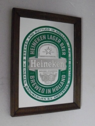 Heineken Beer Mirror
