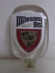 milwaukees best tap handle