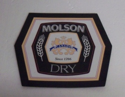 Molson Dry Beer Mirror