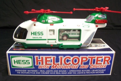 2001 hess toy truck