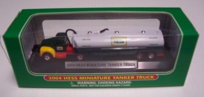 2004 Hess Miniature Tanker Truck NIB