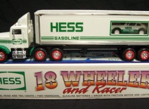 1992 hess toy truck