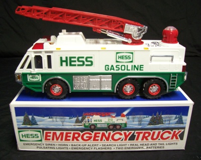 1996 hess toy truck