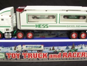 1997 hess toy truck