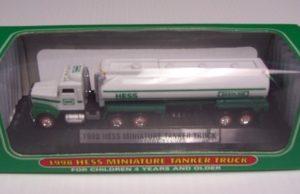 1998 Hess Miniature Tanker Truck
