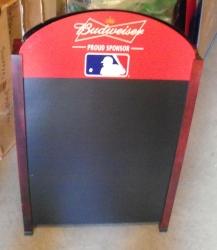 budweiser beer sidewalk chalkboard Budweiser Beer Sidewalk Chalkboard budweisermlbsidewalkboard