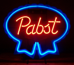 pabst blue ribbon neon sign Pabst Blue Ribbon Neon Sign pabstblueribbon2006