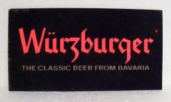 wurzburger beer sign