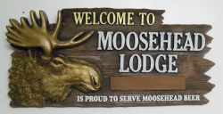 moosehead beer sign Moosehead Beer Sign mooseheadlodgewelcome