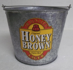 honey brown beer bucket