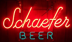 beer sign collection MY BEER SIGN COLLECTION 2 – Not for sale but can be bought… schaeferbeernotransold