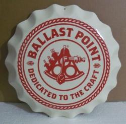 ballast point cap tin sign