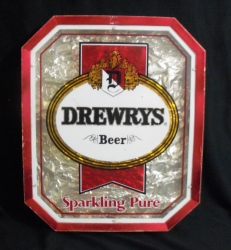 drewrys beer sign Drewrys Beer Sign drewrysbeersparklingpuresign1980
