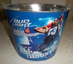 bud light march beer bucket