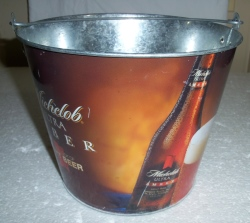 michelob ultra amber beer bucket