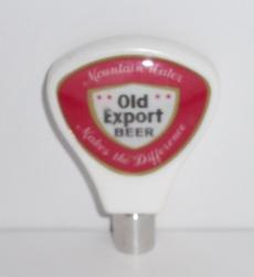 old export beer tap handle