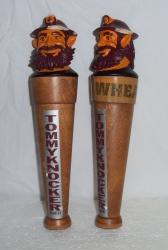 Tommyknocker Jack Wacker Wheat Beer Tap Handle
