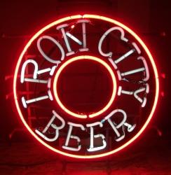 iron city beer neon sign neon beer signs for sale Home ironcitybeerbullseye1984