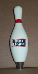Bud Light Beer Bowling Tap Handle