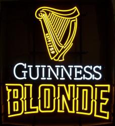Guinness Blonde Led Sign