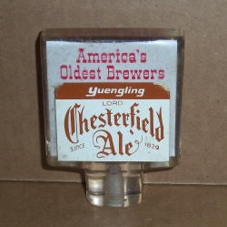 Yuengling Lord Chesterfield Ale Tap Handle