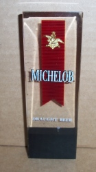 michelob draught beer tap handle