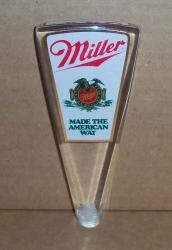 miller beer tap handle