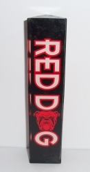 red dog beer tap handle