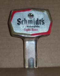 schmidts light beer tap handle